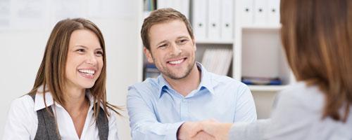 Beratung rund um die Suche oder dem Verkauf einer Immobilie!